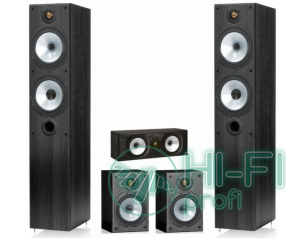 Комплект акустики 5.0 Monitor Audio Reference MR4 set black