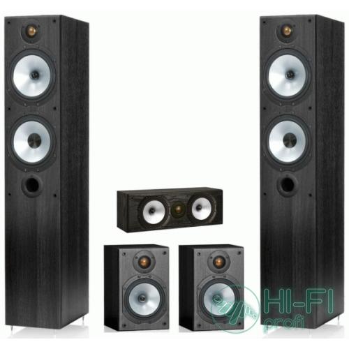 Комплект акустики 5.0 Monitor Audio Reference MR4 set black