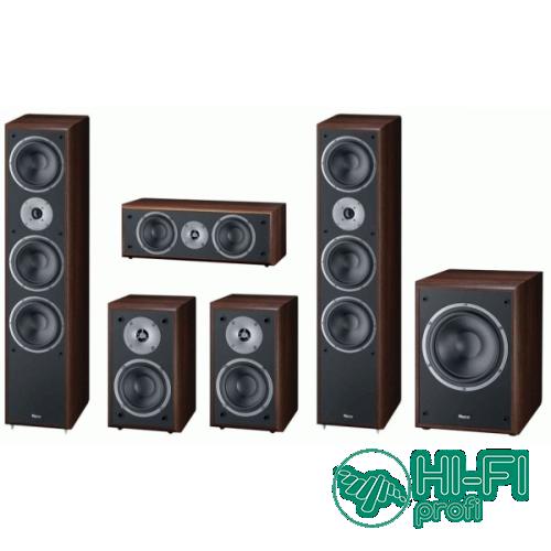 Комплект акустики 5.1 Magnat Monitor Supreme 1002 + сабвуфер Supreme Sub 202A mocca