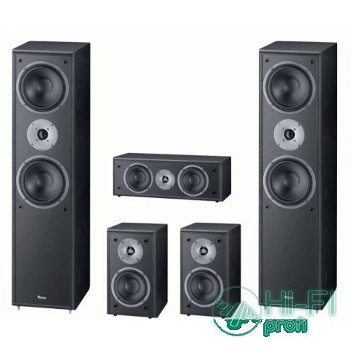 Комплект акустики 5.0 Magnat Monitor Supreme 802 set (802/102/252) black