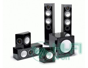 Комплект акустики 5.1 Monitor Audio Silver 6AV12 Gloss Black