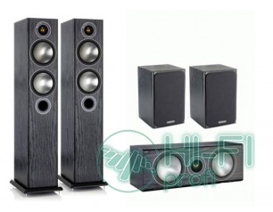 Комплект акустики 5.0 Monitor Audio Bronze 5 set black