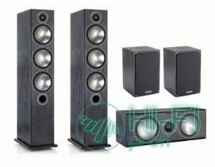 Комплект акустики 5.0 Monitor Audio Bronze 6 set black