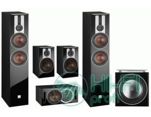 Комплект акустики 5.1 Dali Opticon 6 set + сабвуфер Dali SUB E-12F Black