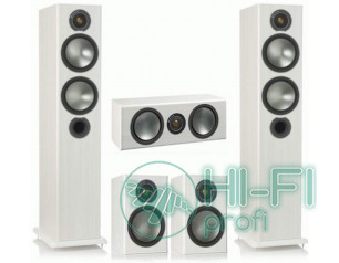 Комплект акустики 5.0 Monitor Audio Bronze 5 set white