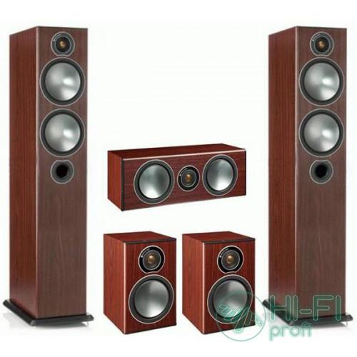 Комплект акустики 5.0 Monitor Audio Bronze 5 set rosemah