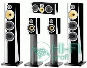 Комплект акустики 5.0 B&W CM8 S2 Set Gloss Black