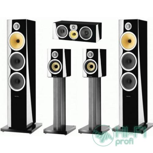 Комплект акустики 5.0 B&W CM9 S2 set Gloss Black