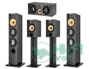 Комплект акустики 5.0 B&W 683 S2  Set Black
