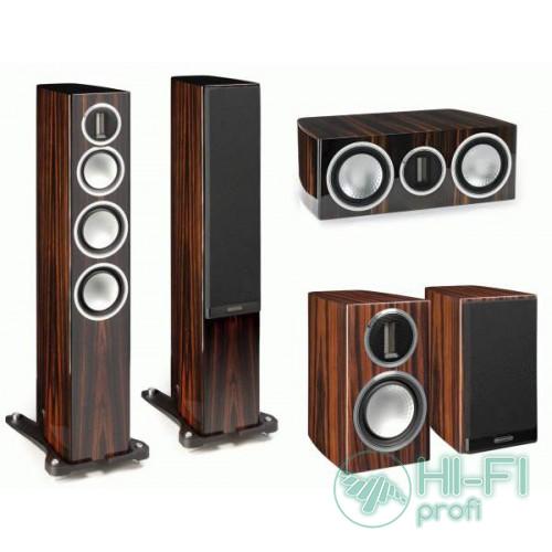 Комплект акустики 5.0 Monitor Audio GOLD 200 Walnut