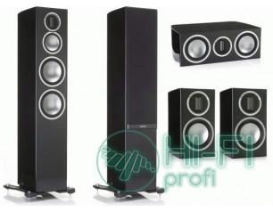 Комплект акустики 5.0 Monitor Audio GOLD 200 Piano Black