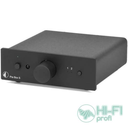 Предварительный усилитель Pro-Ject PRE BOX S BLACK