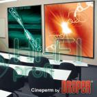 Экран натяжной на раме Draper Cineperm 269/106 фото 3