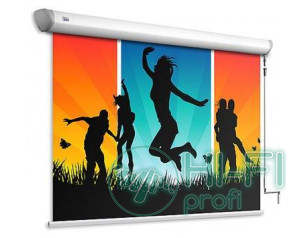 Экран моторизированный Adeo Linear Vision White 210x126