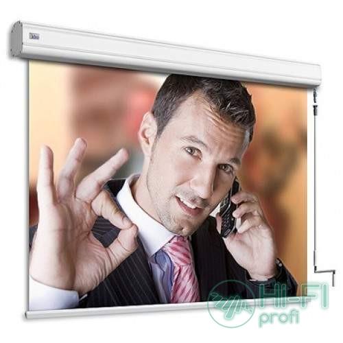 Экран моторизированный Adeo моториз.Alumid Vision White 390x293, формат экрана 4:3
