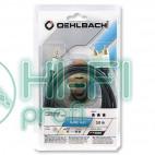 Кабель Mini-Jack - 2RCA Oehlbach 60004 i Connect jack to 2 RCA Set 3,00m black фото 2