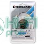 Кабель Mini-Jack - 2RCA Oehlbach 60001 i Connect jack to 2 RCA Set 1,5m white фото 2