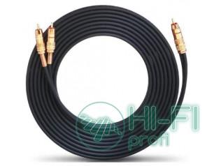 Кабель сабвуферный Oehlbach 205712 NF 1 Y-Adapter Cinch-2Cinch 12m black