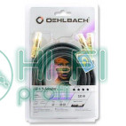Кабель сабвуферный Oehlbach 205712 NF 1 Y-Adapter Cinch-2Cinch 12m black фото 2