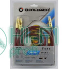 Кабель межблочный готовый Oehlbach 2047 NF 214 Master Set 2x1,00m anthrazit фото 2