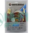 Кабель межблочный готовый Oehlbach 2046 NF 214 Master Set 2x0,70m anthrazit фото 2