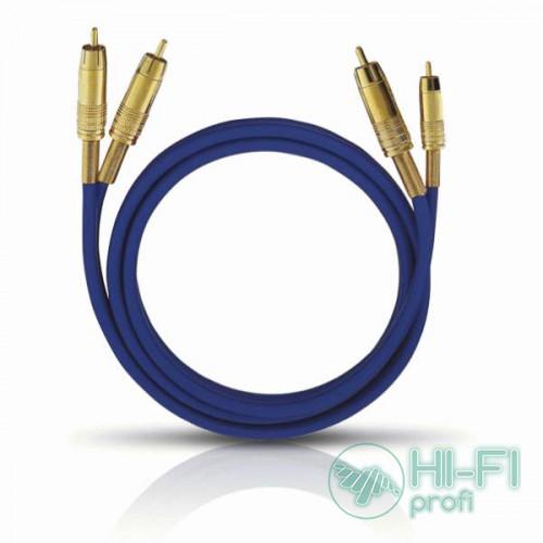 Кабель межблочный готовый Oehlbach 2032 NF 1 Master Set Stereo 1x1,00m blue