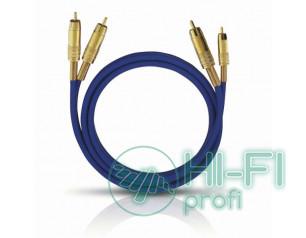 Кабель межблочный готовый Oehlbach 2035 NF 1 Master Set stereo 1x2,00m blue