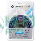 Кабель межблочный готовый Oehlbach 2035 NF 1 Master Set stereo 1x2,00m blue фото 2