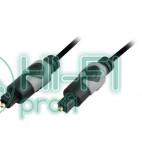 Кабель цифровой оптический Oehlbach 132 Easy Connect Opto MKII 1,00m black фото 3