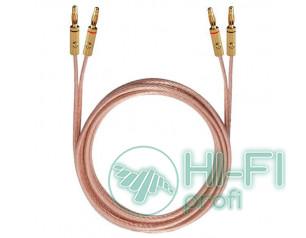 Кабель акустический готовый Oehlbach 10781 Crystal Wire B40 2x4,0mm Banana B3 2,..