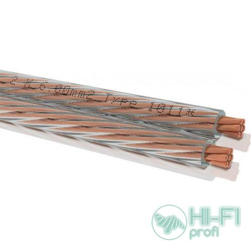 Кабель акустический в бухте Oehlbach 1011 Speaker Cable (2x6,00mm) clear
