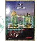 Кабель міжблочний готовий AUDIOQUEST Tower кабель міжблочний (2RCA-2RCA) 3 m фото 2