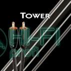 Кабель Mini-Jack - 2RCA AUDIOQUEST Tower (3,5mm-2RCA) 3м фото 2