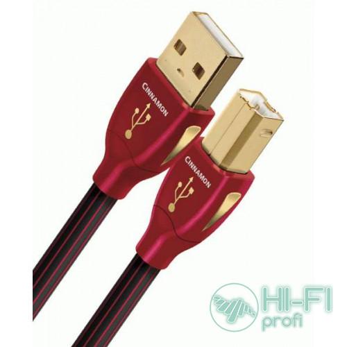 Кабель USB AUDIOQUEST Cinnamon USB 1,5m (A-B)
