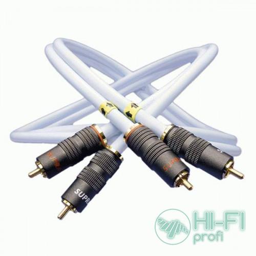 Кабель межблочный готовый Supra EFF-IX AUDIO PAIR 1M
