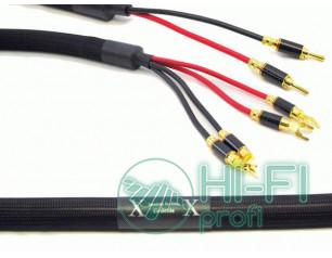 Кабель акустический готовый Purist Genesis bi-wire, 2m