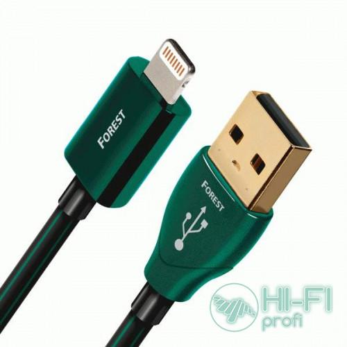 Кабель USB AUDIOQUEST hd 0.75m, USB FOREST Lightning