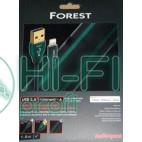 Кабель USB AUDIOQUEST hd 0.75m, USB FOREST Lightning фото 2