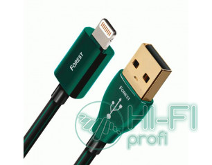 Кабель USB AUDIOQUEST hd 1.5m, USB FOREST Lightning
