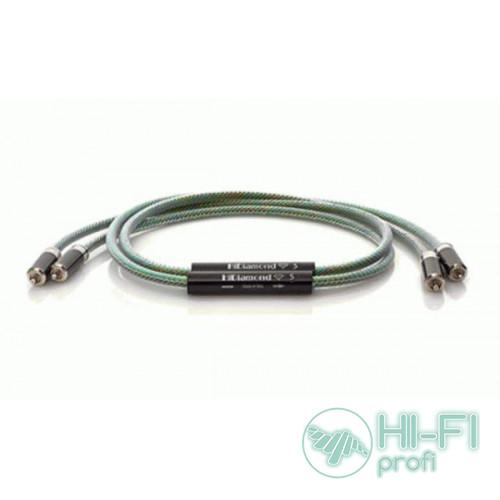 Кабель межблочный готовый HiDiamond Signal Diamond 5 RCA, 1м