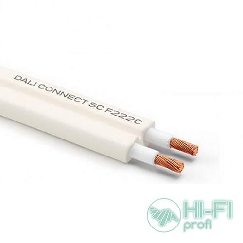 Кабель акустический в бухте DALI CONNECT SC F222C 2.20mm , 1м