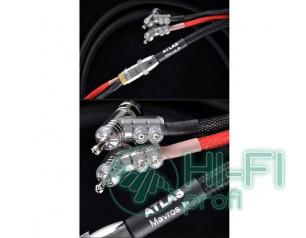 Кабель акустический готовый Atlas Mavros 2.0m Expanding Rhodium Plug