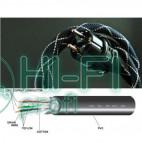 Кабель силовой готовый Atlas EOS MK II 4 sqmm Rhodium Schuko - IEC 1.00m фото 4