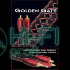 Кабель межблочный готовый AUDIOQUEST Golden Gate (3,5mm-2RCA) 0,6м фото 3