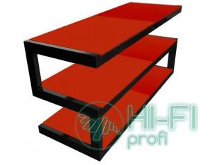 Підставка для AV апаратури NORSTONE Esse black-red