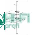 Подставка для AV аппаратуры Sonorous PL 2620-B-SLV фото 2