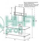 Подставка для AV аппаратуры Sonorous NEO 95-B-SLV фото 2