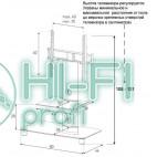 Подставка для AV аппаратуры Sonorous PL 2380-B-SLV фото 2