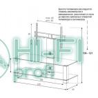 Подставка для AV аппаратуры Sonorous PL 2400-B-HBLK фото 2