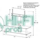 Подставка для AV аппаратуры Sonorous NEO 130-B-SLV фото 2